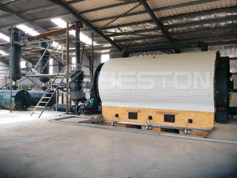 Pabrik Pirolisis Ban Limbah BLJ-10
