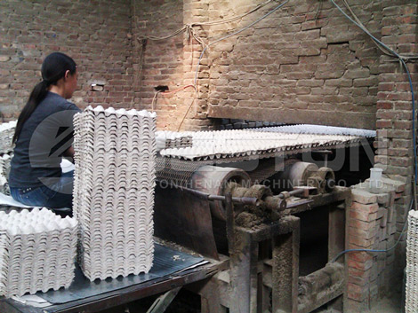 Brick Drying Line With Belt Conveyor