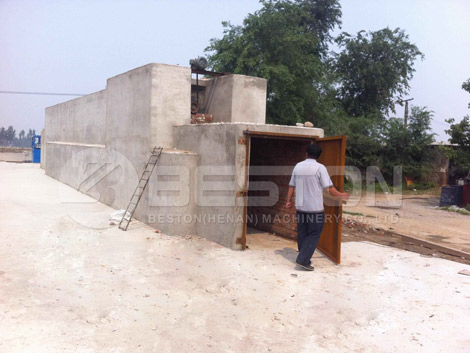 Brick Drying Line With Small Cart