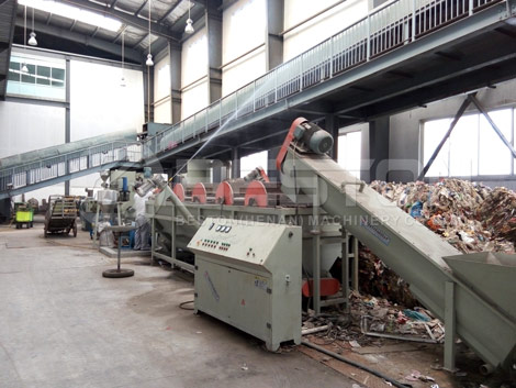 Garbage Segregation Machine