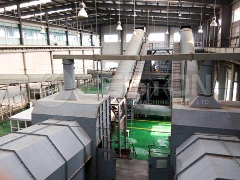 Planta de gestión de residuos sólidos