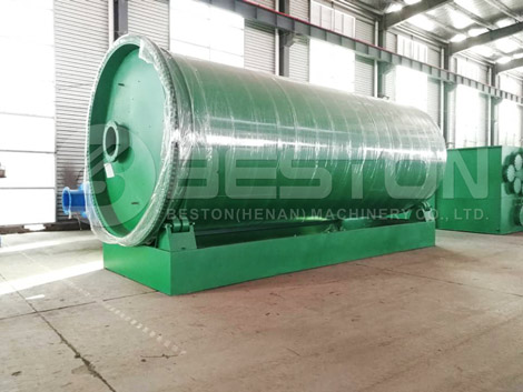 Tire Pyrolysis Plant Shipped to The Philippines