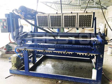 Máquina de moldeo de pulpa BTF-1-4 en Filipinas