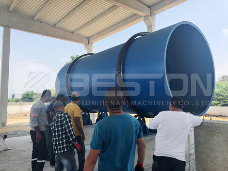 Türkiye'de Hindistan Cevizi Kabuğu Kömür Yapma Makinesi