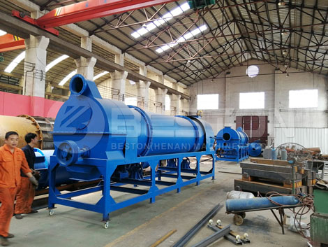 Coconut Shell Charcoal Manufacturing Machine