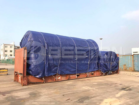 Pyrolysis Plant With Perfect Packing