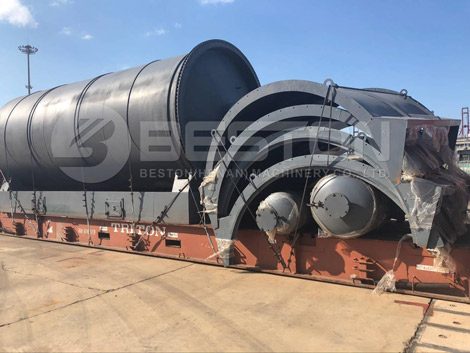 Tyre Pyrolysis Plant Shipped to South Africa
