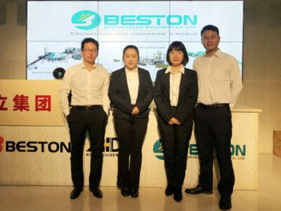 Beston Machinery Посетит филиппинских клиентов