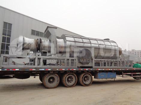 Máquina de biocarbón a Ghana