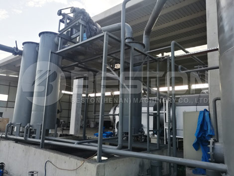 Garbage Carbonizing Machine In Turkey