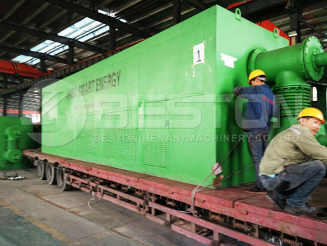 Waste Pyrolysis Plant Is Packed