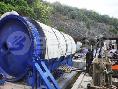 В Корее смонтирован завод по пиролизу каучука