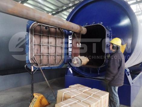 Reactor de pirólisis de neumáticos a Uganda