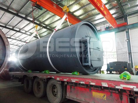 Pyrolysis Plant To South Africa
