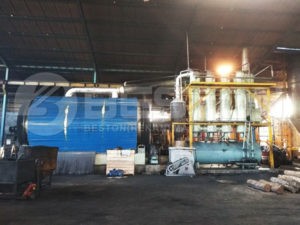 Pyrolysis Plant Was Installed In Indonesia