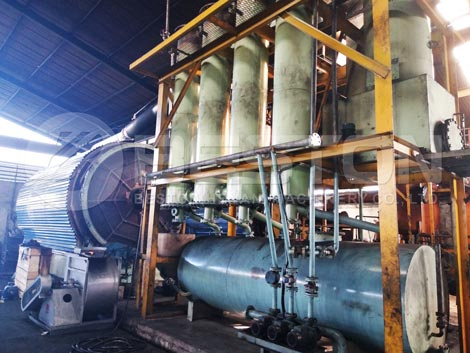 Tyre Pyrolysis Plant In Indonesia
