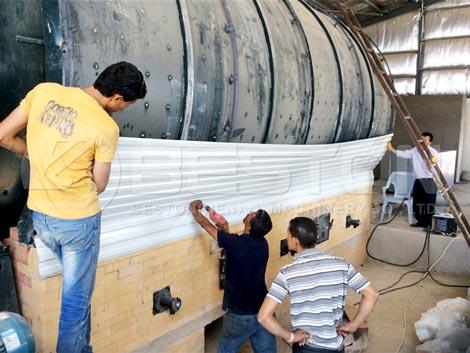 Installing Tyre Pyrolysis Plant In Jordan