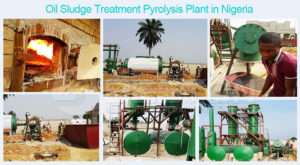 Oil Sludge Treatment Pyrolysis Plant in Nigeria