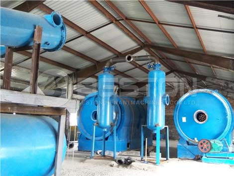 Pyrolysis Plant In Hungary
