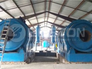 Pyrolysis Plant with Two Reactor