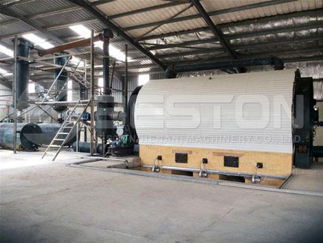 Tire Pyrolysis Plant For Jordan Customer