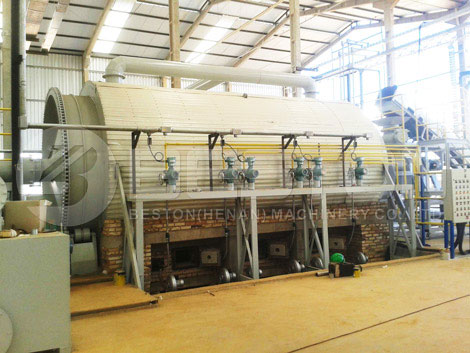 Tyre Pyrolysis Plant Installed In Brazil