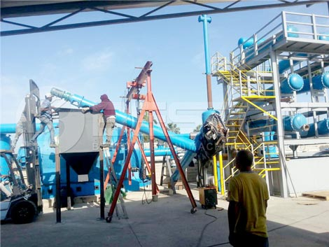 Installing Pyrolysis Plant In Dominica