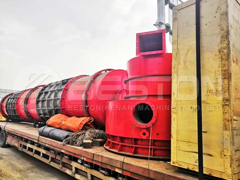 Hindistan Cevizi Kabuğu Kömür Makinesi Rusya'ya