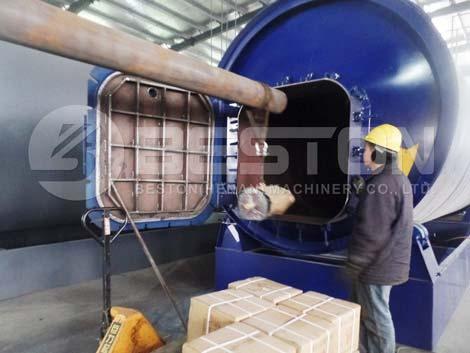 Pabrik Pirolisis Skala Kecil Ke Uganda