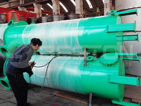Máquina de pirólisis de biomasa al español