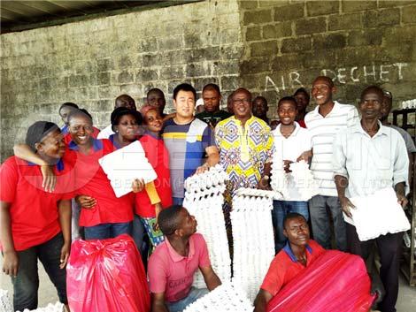 Instalación en Costa de Marfil