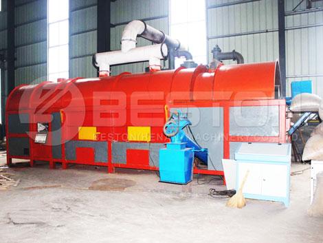 Mesin Arang Kayu ke Malaysia