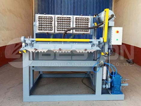 Egg Tray Machine to Tanzania