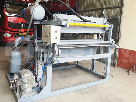 Egg Tray Making Machine To Colombia