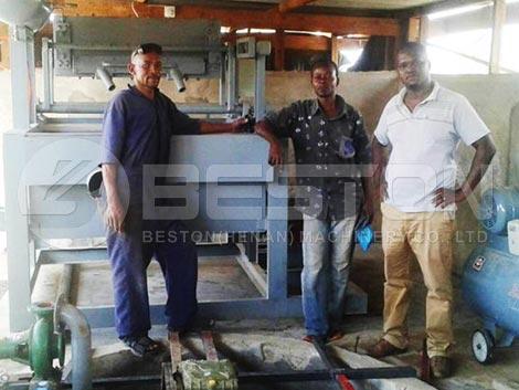 Instalación en Tanzania