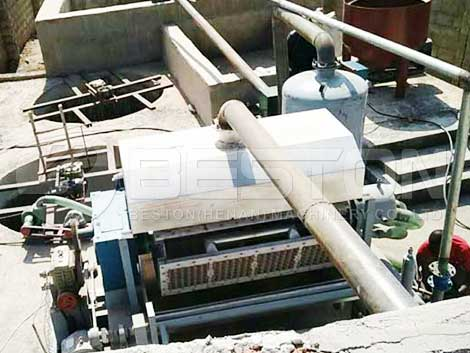 Paper Egg Tray Machine in Zambia