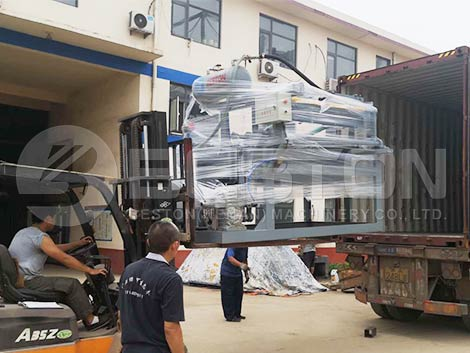 Shipment In Factory