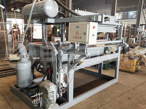 BTF-1-4 Egg Tray Making Machine to Sudan
