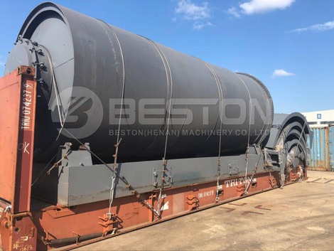 BLJ-16 Rubber Pyrolysis Plant to South Africa
