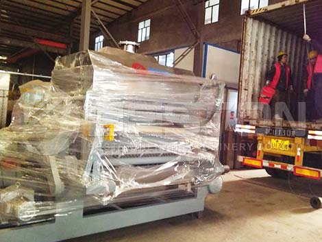 BTF-4-8 Paper Egg Tray Machine Shipped To Indonesia