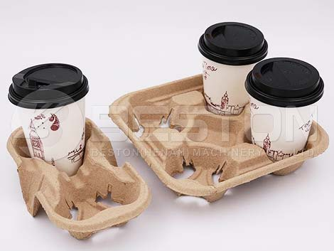 Coffee Cup Tray Making Machine