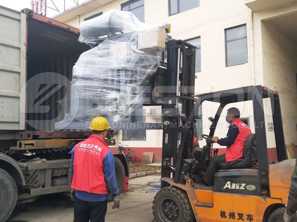 1000pcs Egg Tray Machine Deliveried To Philippines