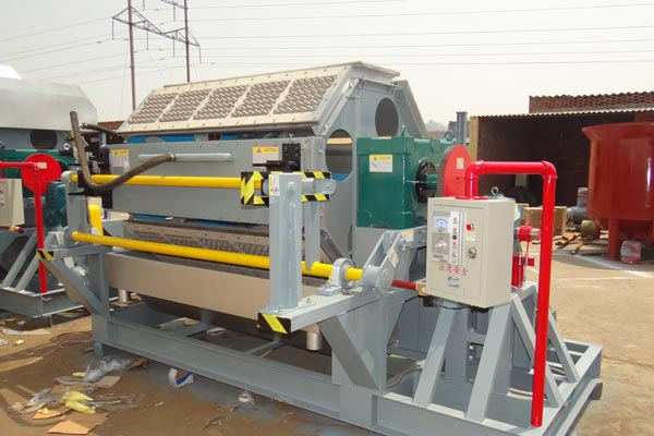 Application of Paper Egg Tray Making Machine