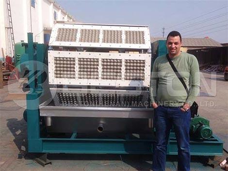 Machine à plateau d'oeufs BTF4-8