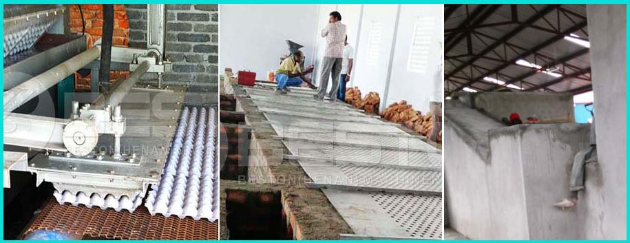 Automatic Brick Building Belt Conveyor Dryer