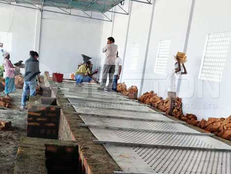Brick Drying Line In India