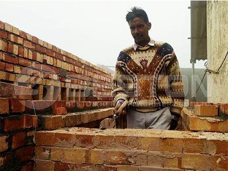 Construir un secador en la India