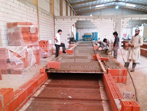 Construcción de una línea de secado en Arabia Saudita