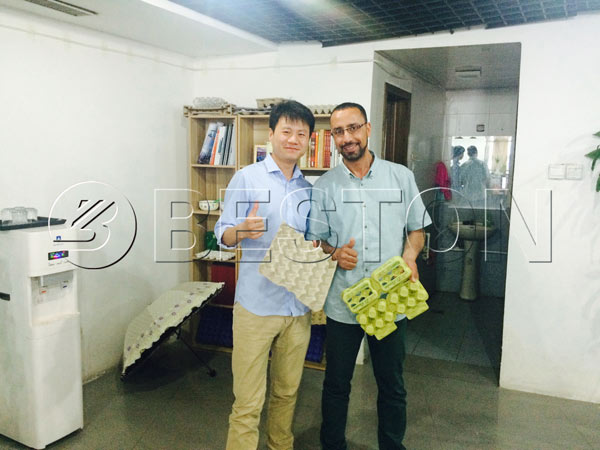 Customer of Algeria Visit Our Factory