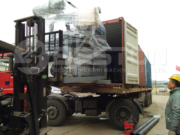 Egg Tray Machine Shipped To Sudan